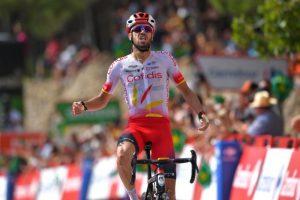 2019 Abbigliamento Ciclismo Cofidis Rosso Bianco Manica Corta e Salopette