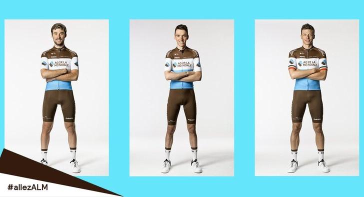 Ag2r La Mondiale introduce un nuovo abbigliamento da ciclismo