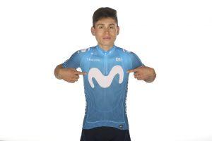 salopette ciclismo Movistar