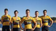 Maglie e salopette ciclismo Jumbo Visma